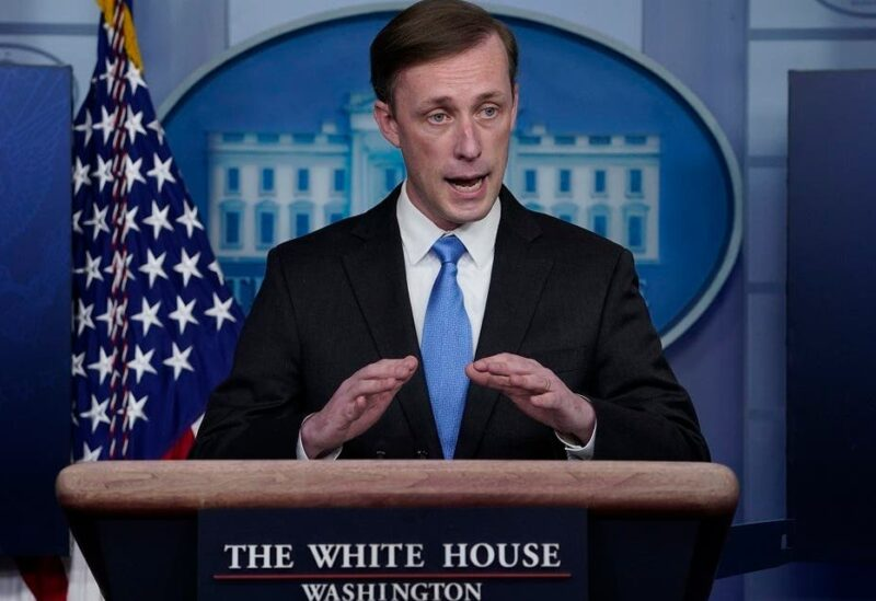 National Security Adivosr Jake Sullivan speaks during a press briefing at the White House, Feb. 4, 2021. (AP)
