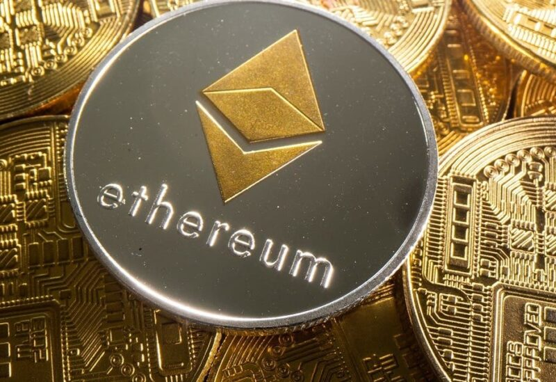 A representation of cryptocurrency Ethereum is seen in this illustration. (Reuters)