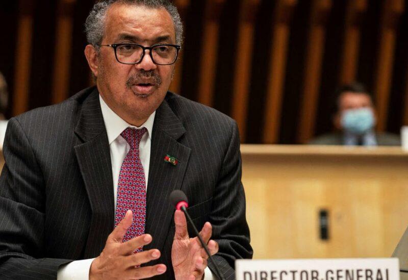 WHO Director-General Tedros Adhanom Ghebreyesus. (File photo)
