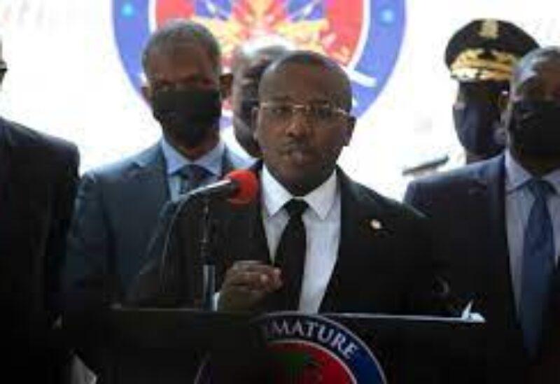 Haiti's prime minister Ariel Henry