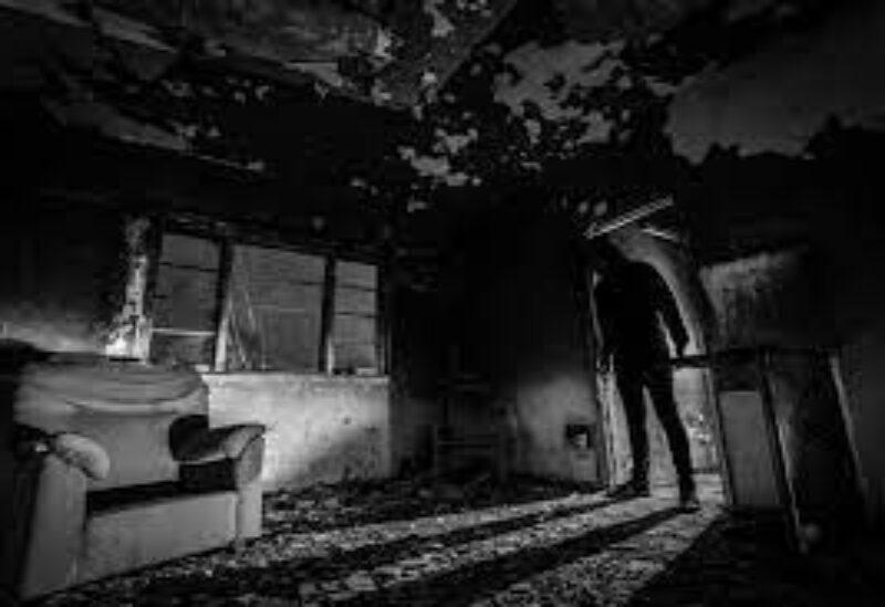 Horror movie symbolic