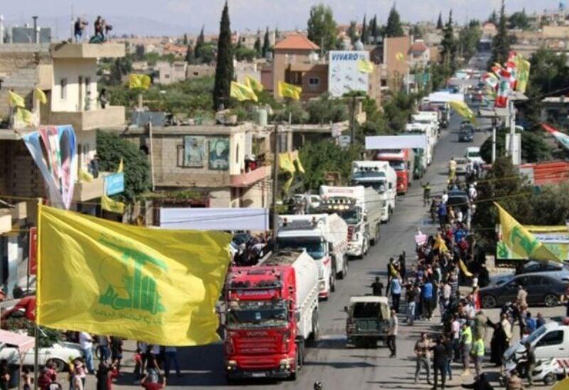 Iranian fuel entry into Lebanon
