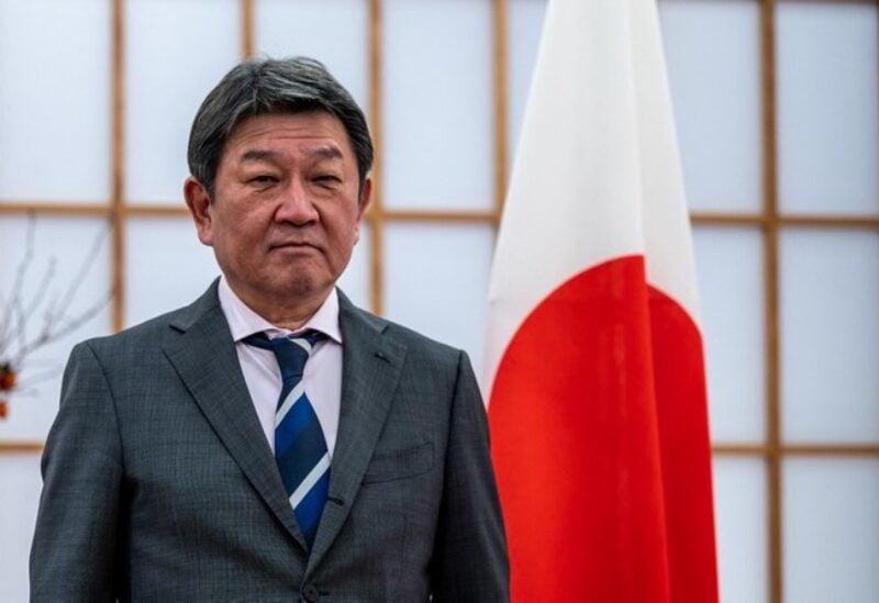 Japanese Foreign Minister MOTEGI Toshimitsu.