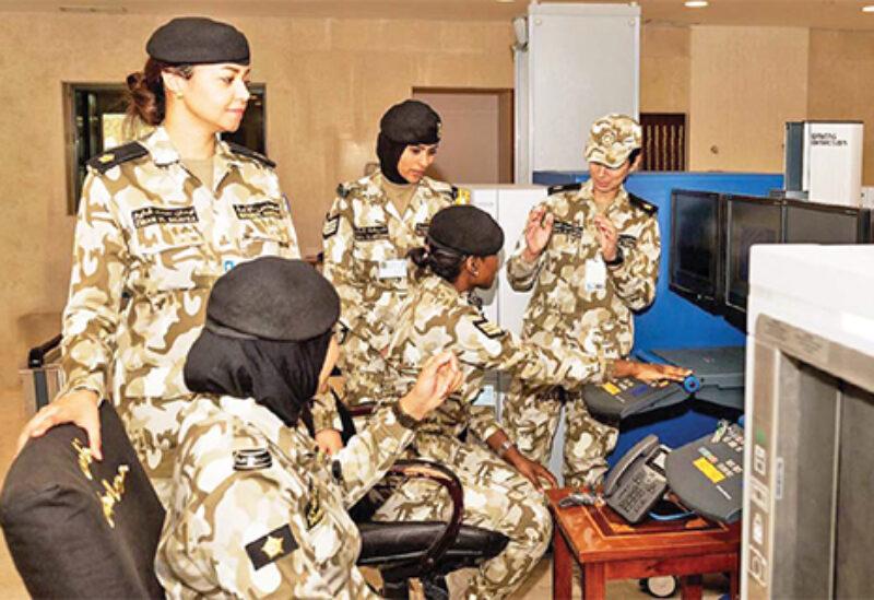Kuwaiti women security forces
