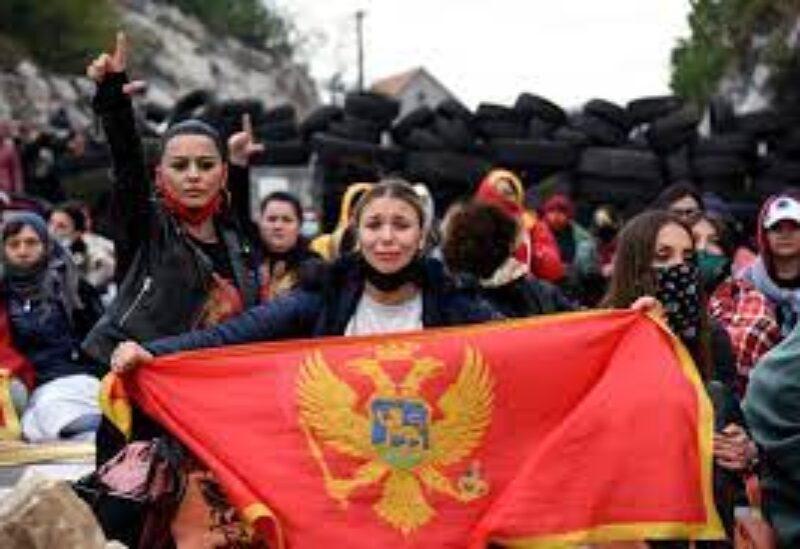 Montenegro protests