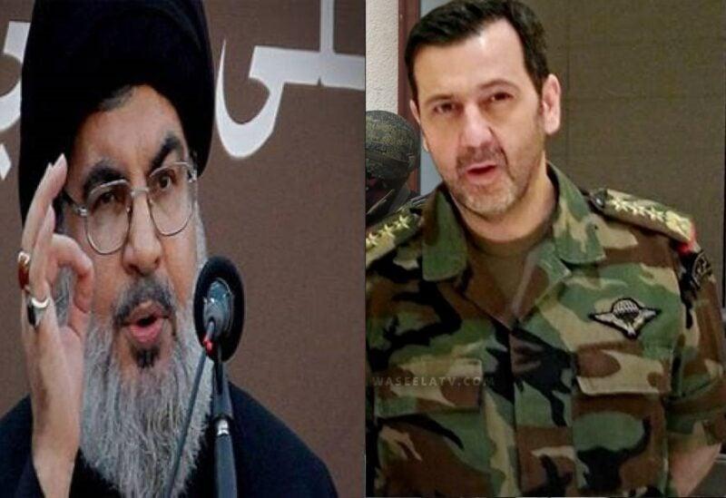 Nasrallah and Maher Al-Assad