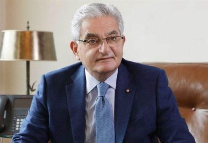 President of Banks' Association Salim Sfeir
