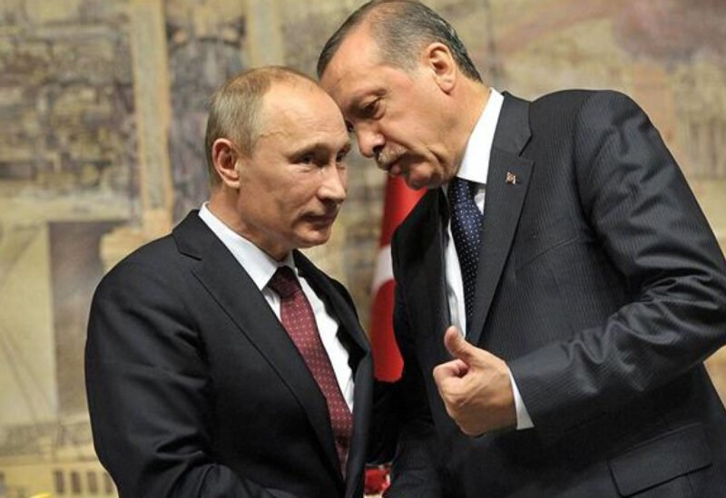 Russian President Vladimir Putin and Turkish President Rajab Tayeb Erdogan