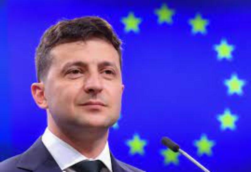 Ukraine President Volodymyr Zelenskiy's