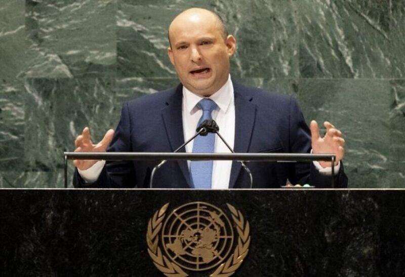 Israel's prime minister Naftali Bennett