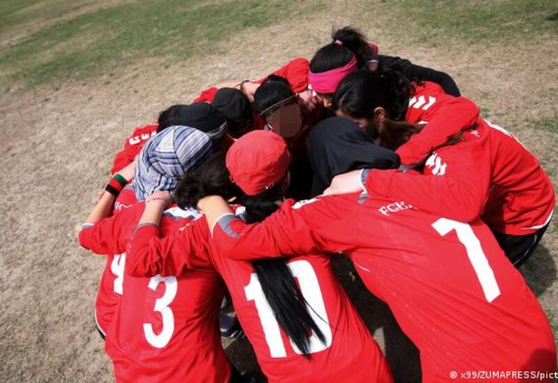 Afghan girls football team