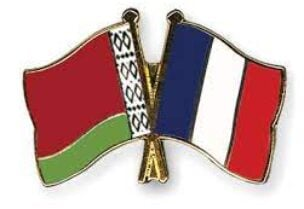 Belarusian and French flags