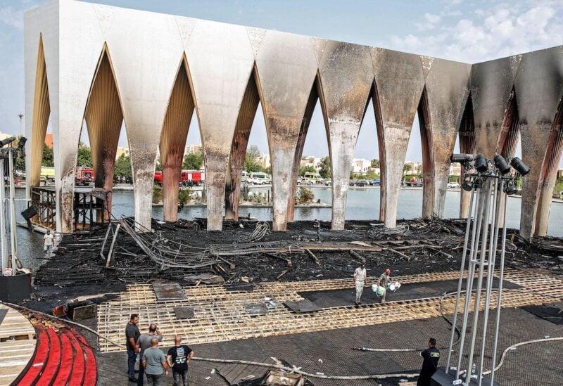 El-Gouna film festival fire aftermath