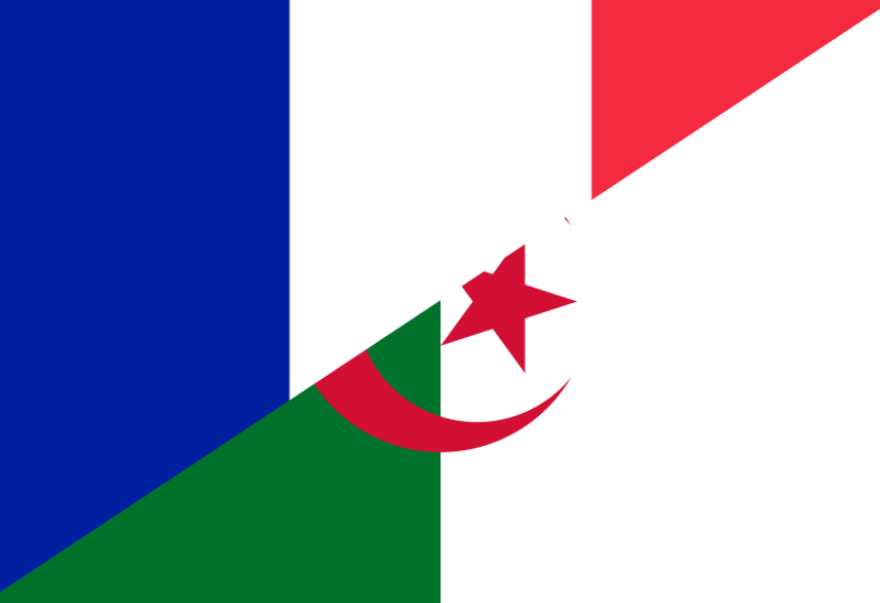 French and Algerian flags