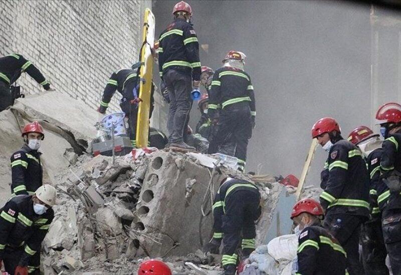 Georgia building collapse