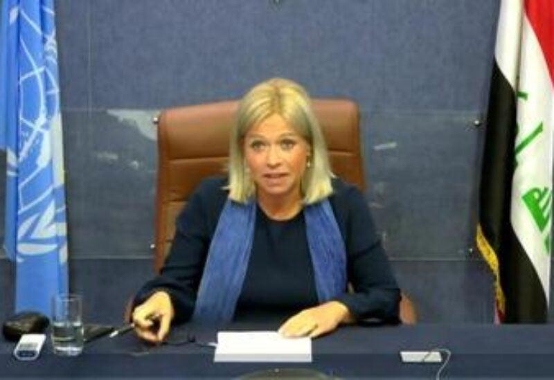 Jeanine Antoinette Plasschaert, Head of UNAMI