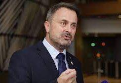 Luxembourg prime minister Xavier Bettel