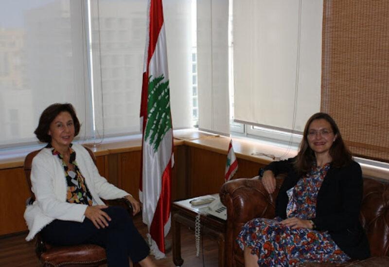 Minister of State for Administrative Development Ambassador Najla Riachi