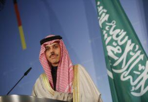 Saudi Foreign Minister Prince Faisal bin Farhan