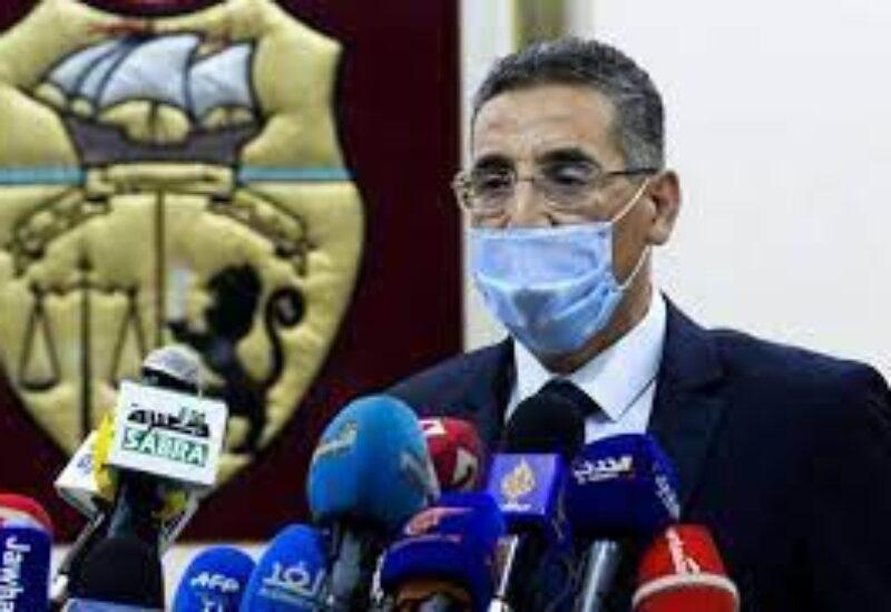 Tunisian Interior Minister Taoufik Charfeddine